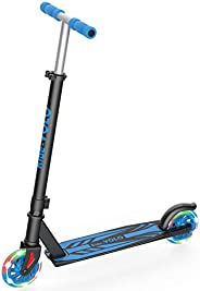 RideVOLO K05 Kick Scooter Suitable for 4-9 Years Old, PU Flash Wheels, 3 Adjustable Heights, Lightweight Alumi