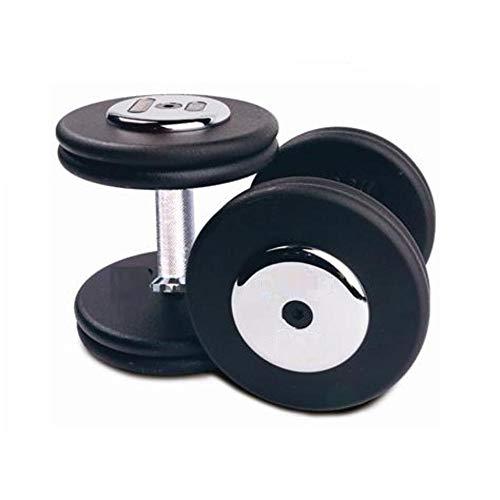 IRIS Fitness Allen Key Steel Plated Iron Dumbbells with knurled Steel Grip, Heavy Dumbbells Set- Pair of Dumbbells (7.5 Kg x 2 Pcs)