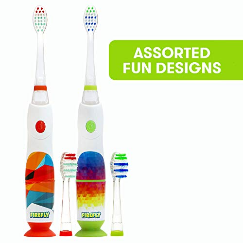 Firefly Rainbow Sonic Lightup Timer Toothbrush, Soft, 1 Count