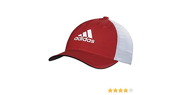 816d50e6e79 Amazon.com  adidas Climacool Lightweight Flexfit Cap Red Grey Large X-Large   Sports   Outdoors
