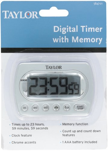 Taylor Precision Products Digital Memory