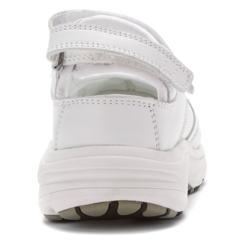 Drew Shoe Womens Flame Mary Janes Sneakers White Leather / White Mesh ijVx7IK
