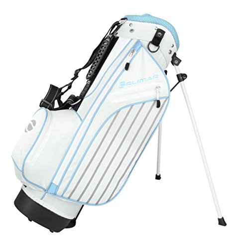 Orlimar Golf ATS Junior Girl's Sky Blue Golf Stand Bag (Ages 9-12) - Golf Girls Golf Bag