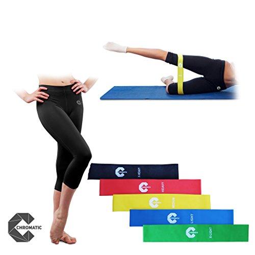 Chromatic Legging Resistance Exercise Instruction product image
