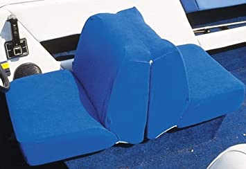 Back to Back Lounge Seat Blue Taylor Made Products Boat Seat Cover 11997