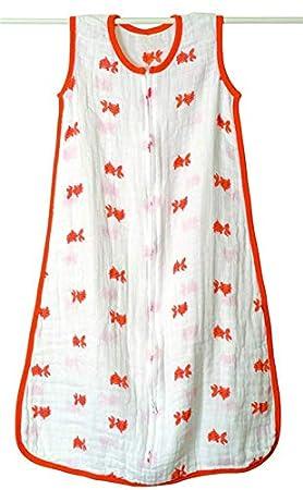 RubyShopUU Aden+Anais Baby Soft 100% Cotton Muslin Thin Slumber Sleeping Bag Mod Summer Baby para Bebe Sleeveless Sleepsacks Bedding