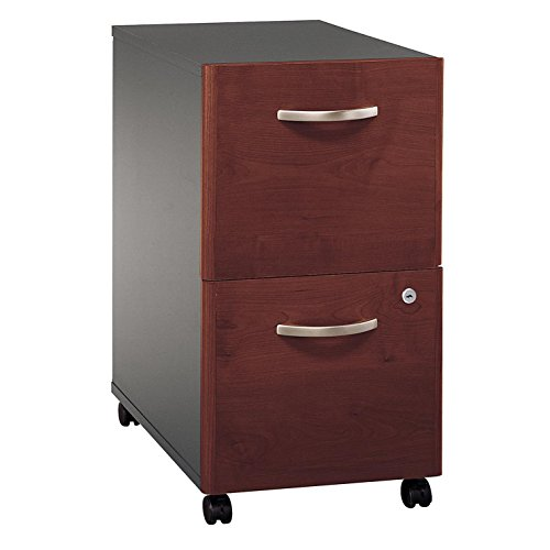 Bush Business Furniture Series C 2 Drawer Mobile File Cabinet in Hansen - Series File Cabinet Mobile