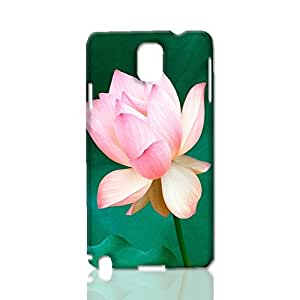 Lotus with green background scenery 3D Rough Case Skin, fashion design image custom, durable hard 3D case cover, Case New Design for Samsung Galaxy Note 3 , By Codystore
