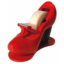 Scotch Shoe Tape Dispenser, Red High-heel, Includes 1 Roll of Scotch Magic Tape, .75-Inch x 350-Inch, 1 Roll Per Dispenser