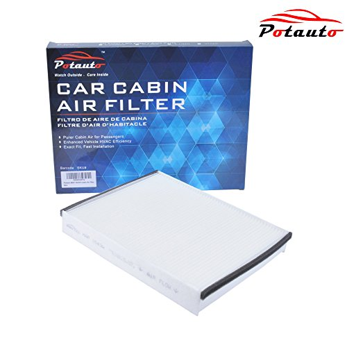 POTAUTO MAP 1043W Cabin Air Filter Replacement compatible with FORD, LINCOLN