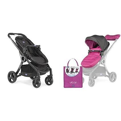 Chicco Urban plus -Carrito transformable en capazo y silla de paseo ...