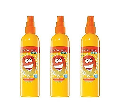 3 x Avon Naturals Kids hair Tamer/detangling spray x 200ml