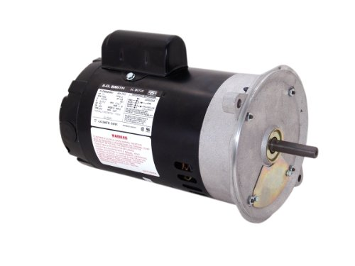 (A.O. Smith OL1052DS 1/3 HP, 3450 RPM, 115/230 Volts, 48N Frame, ODP Enclosure, Sleeve Bearing, Reversible Rotation Oil Burner Motor)