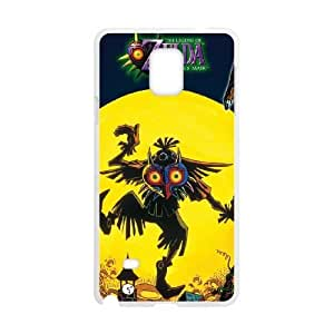 Printed Cover Protector Samsung Galaxy Note 4 N9108 Cell Phone Case White Majora's Mask Quijl Printed Cover Protector