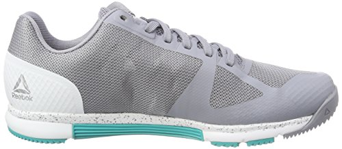 Reebok Crossfit Speed TR 2.0, Scarpe da Fitness Donna Grigio (Cool Shadow/Solid Teal/White 000)