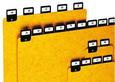 Coutal-Register Alphabetiques H210 x 297, 25 Stück Büroartikel Büroartikel Büroartikel B001AO1234 Karteiksten & Rotationskarteien Haltbarkeit ad6353