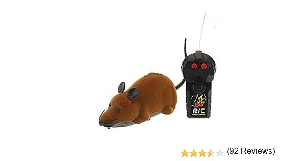 Brown teledirigido Rata Ratón del juguete para gato del gatito del ...