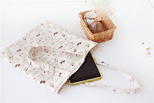 ASAPS Canvas Tote Bag Black Print Design  1598108c99fc3