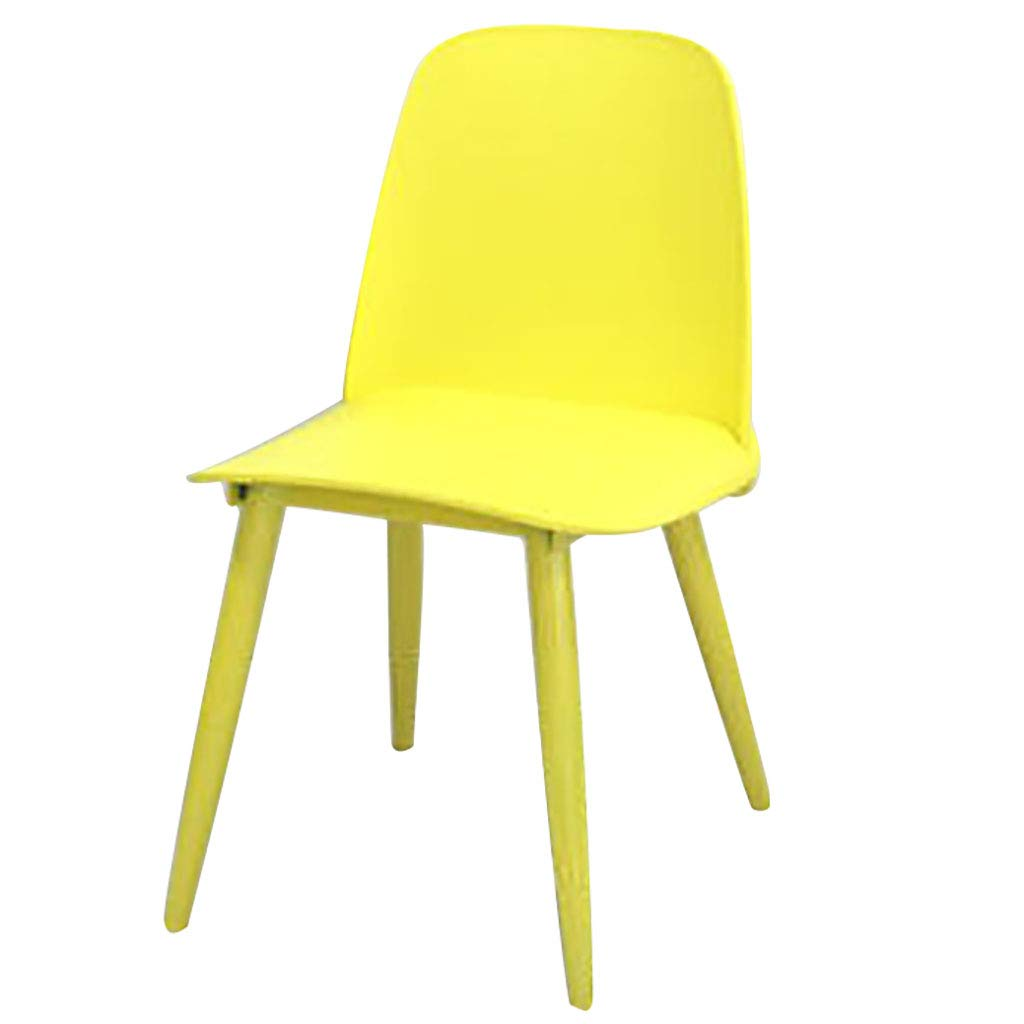 45cm-yellow Bar Stools Nerd Replica Design Retro Modern Muuto Scandinavian Bar Stools for Cafe Counter Kitchen Metal Legs Plastic Seat