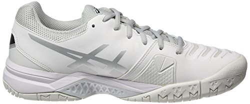 Silver Gel White Tennis Asics White Women's Shoes Challenger 11 Off BWwATHqzPA