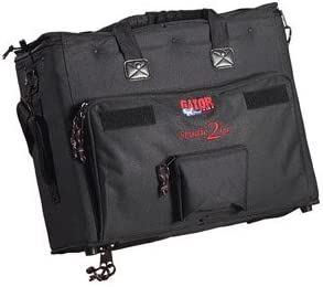Gator Laptop and 2-Space Audio Rack Bag (GSR-2U)