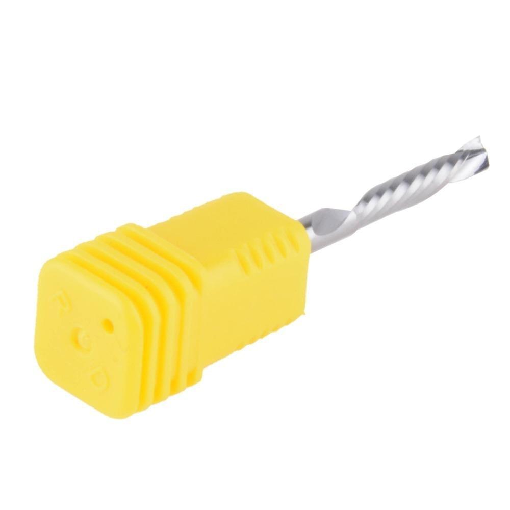 fraisage de coupe outils Router Bit Lot de 3 EU Hozly 3.175/X 15/mm Up Down D/écoupe 1,5/une seule Fl/ûte de spirale carbure CNC Mill outils de fraisage
