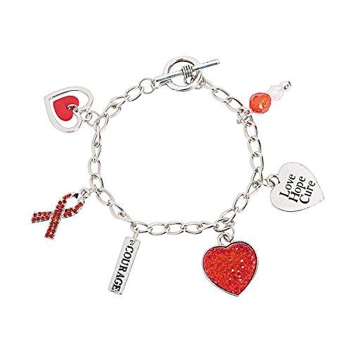 Heart Disease Awareness Bracelets with (Heart Health Awareness Bracelet)