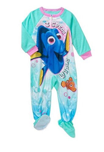 Disney Finding Dory Nemo Toddler Girls Boys Footed Pajamas Blanket Sleeper