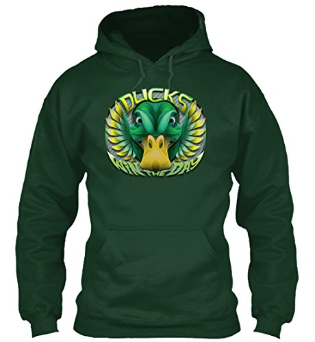 Teespring Unisex Ducks Win The Day Gilda - Oregon Ducks Green Team Issue Shopping Results