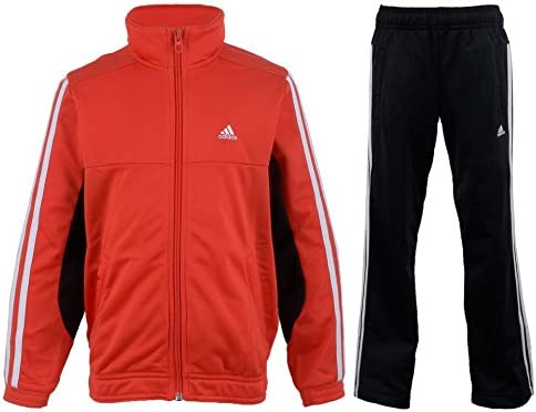 adidas Tiberio poliéster Chándal Junior, Color - Red - Black ...
