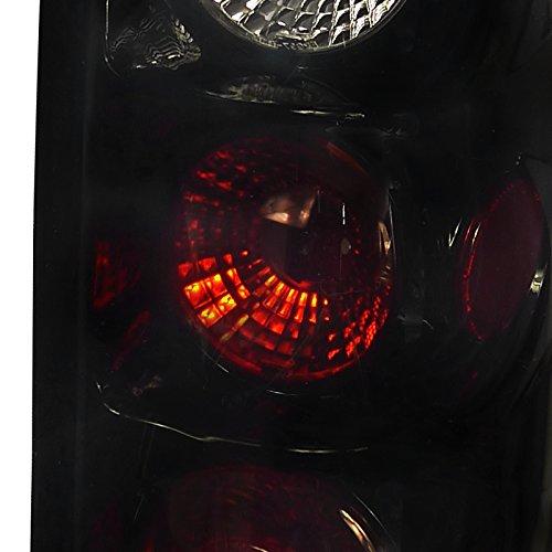 Spec-D Tuning LT-SIV99BB-TM Smoked Tail Light