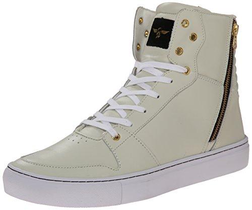 Creativo Ricreazione Mens Adonis Moda Sneaker Bianco
