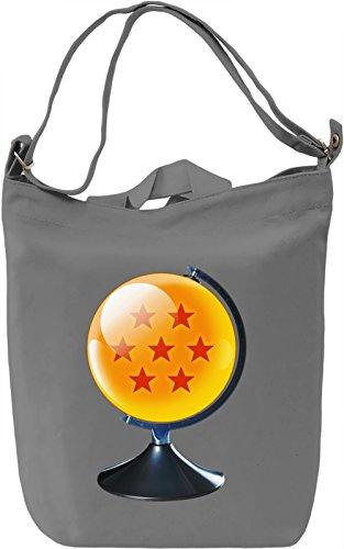Dragon ball Z world Borsa Giornaliera Canvas Canvas Day Bag  100% Premium Cotton Canvas  DTG Printing 