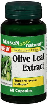 Mason Natural Olive Leaf Extract Capsules - 60 Capsules, Pack of 5 by Mason Natural