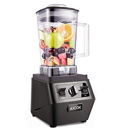 Blender, 35000 RPM High Speed Professional Countertop Blender for Shakes and Smoothies 1400W, Built-in preset Programs & Pulse, Self-Cleaning, 70 Oz Dishwasher Tritan Jar BPA-Free, Aicok