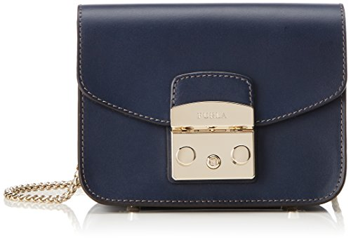 Furla Women's Metropolis Mini Crossbody Bag, Blue, OS