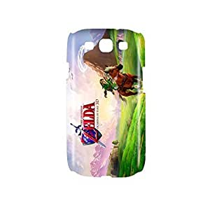 The Legend of Zelda : Ocarina of Time Game Snap on Plastic Case Cover Compatible with Samsung Galaxy S3 GS3 by mcsharks