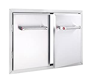 """KitchenAid 780-0018 Cabinet Double Access Door, 33"""" Stainless"""