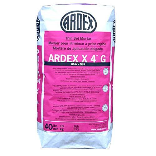Ardex X 4 Tile & Stone Mortar (Gray), 40 lb. Bag by Ardex