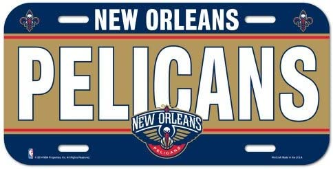 Wincraft Plaque dimmatriculation NBA