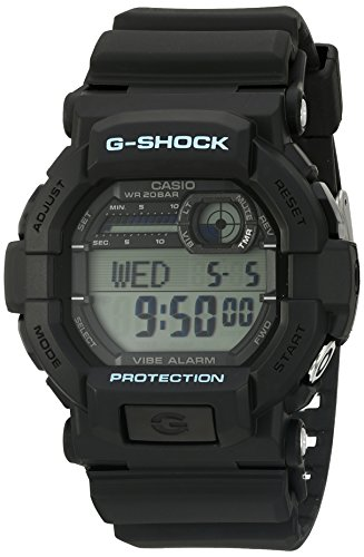 (Casio Men's G-Shock GD350-1C Black Resin Sport Watch)