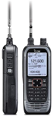 Icom IC-R30 Digital and Analog Wideband Communications Receiver with Dualwatch and Dual Band Recording Functions