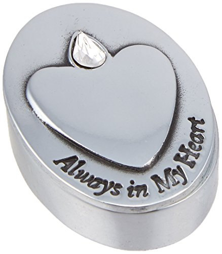 Cathedral Art AB101 Always in My Heart Memorial Box, 1-1/8 by 1-3/4-Inch