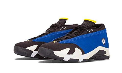 Air Jordan 14 Retro Sneakers (Air Jordan 14 Retro Low Men's Basketball Shoes Varsity Royal/Black-White 807511-405 (8 D(M) US))