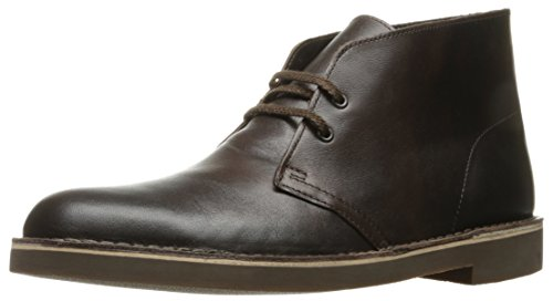 Clarks Men's Bushacre 2 Desert Boot, Chocolate, 11 M US