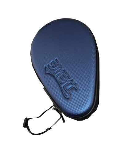 Buy Hard Cover for Tabel Tennis Paddle and Balls, PingPong Racket Bag, Royal Blue
