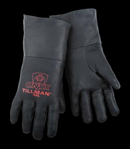 Tillman 44L Lg Black Kidskn Tig Glv-Cd by Tillman