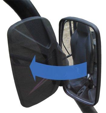 Ranger 570 900 XP Folding Breakaway Side View Mirror Set