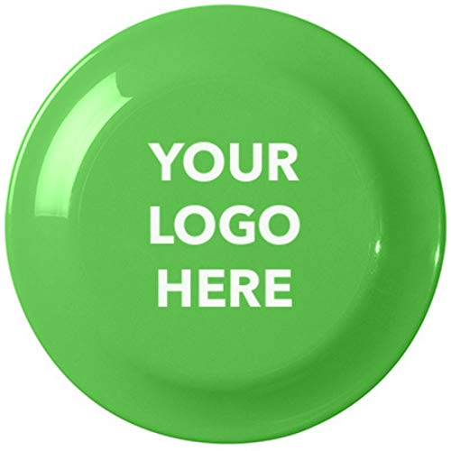 Promotional Flying Discs - HiTouch Business Services #707 Large Discus - 50 Qty - $1.15 EA - Promotional Product/Custom/Your Logo/Low Minimums, Lime Green