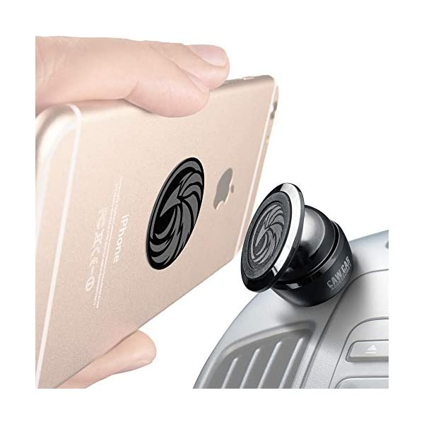 Universal Car Phone Mount Magnetic – All-Metal Car Mount for Smartphone &...